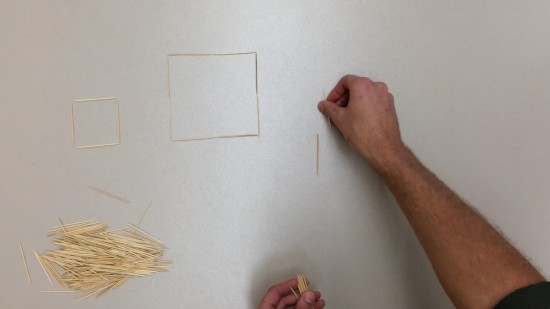 Placing Toothpicks 3 Act Math Task - Patterning, Proportional Direct Variation Linear Relations