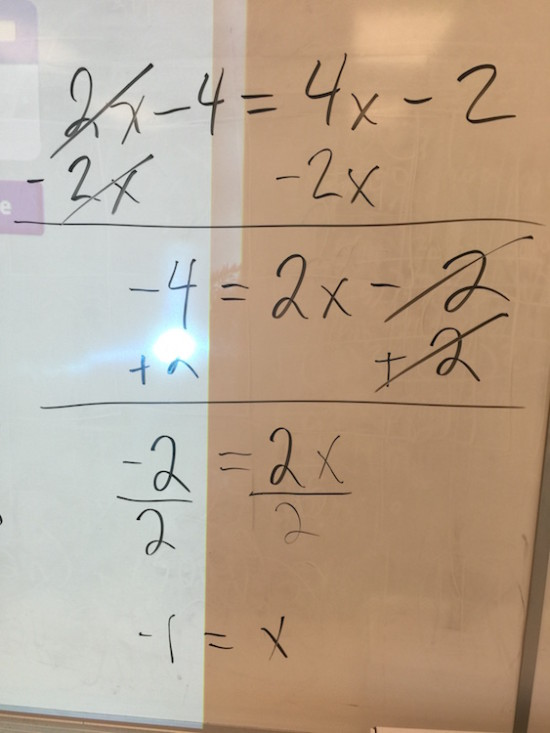 Solving Equations With Distribution Algebraically