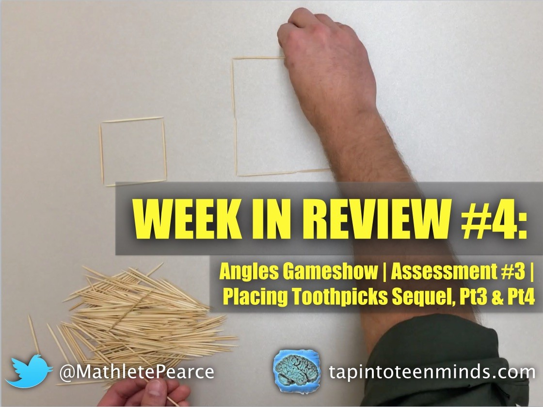 Week In Review #4 – Geometry & Linear/Non-Linear Relations