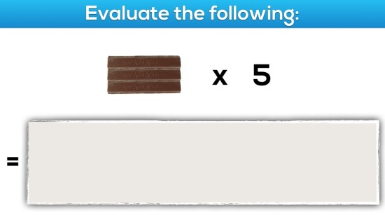 Gimme A Break - Task 5, Act 2 - Multiplying Simple Fractions By Whole Numbers