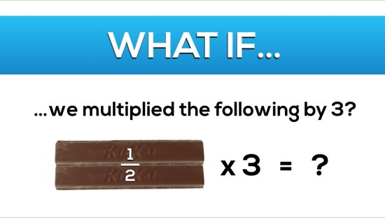 Gimme A Break - Task 4, Act 2 - Multiplying Simple Fractions By Whole Numbers