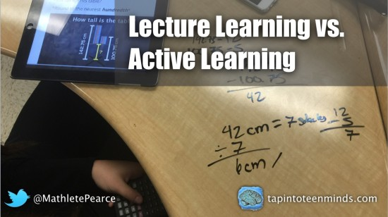 Lecture Learning vs Active Learning - Is there reason for a debate?