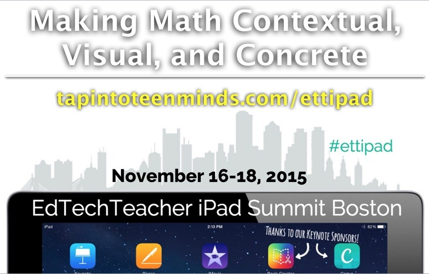 2015 #ettipad iPad Summit: Boston – Resource Page
