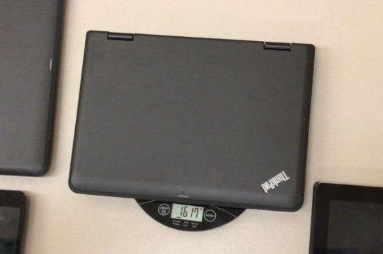 Tech Weigh In Sequel - Act 3 - Weight Of Laptop