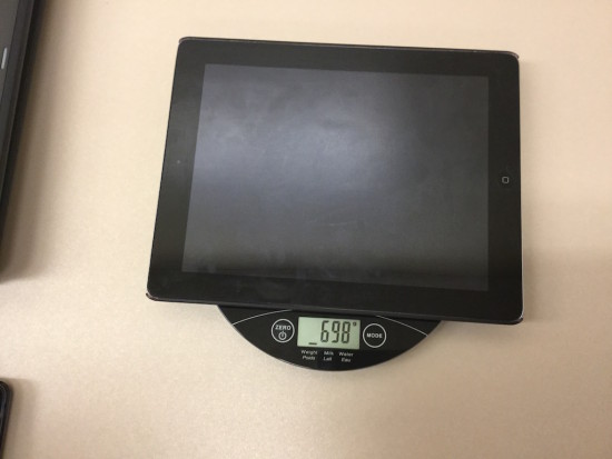 Tech Weigh In Sequel - Act 3 - Weight Of iPad2
