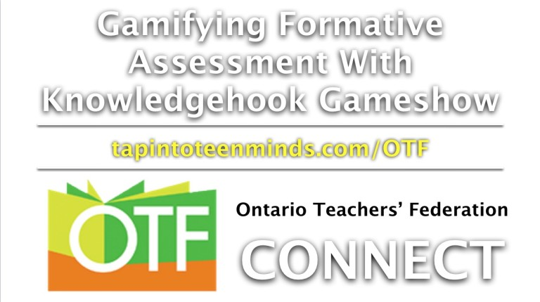OTF Connect – Gamifying Formative Assessment with Knowledgehook Gameshow