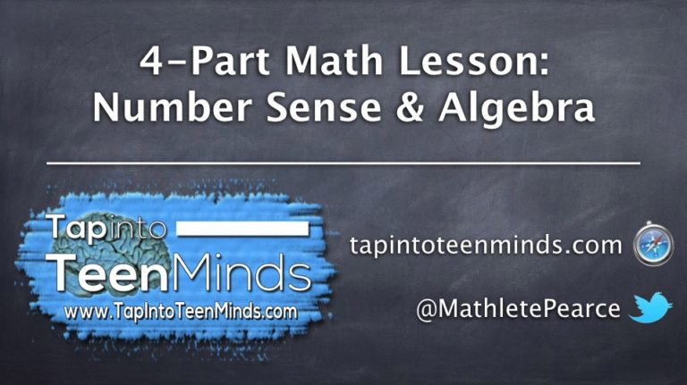 OTF Connect – 4-Part Math Lesson: Number Sense and Algebra
