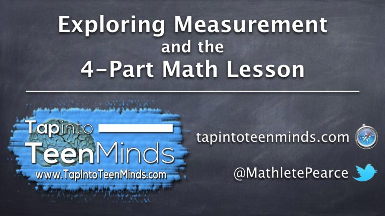 OTF Connect – Exploring Measurement and the 4-Part Math Lesson