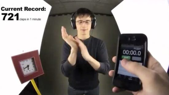 Fast Clapper - 3 Act Math Task - Nathan Kraft