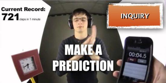Fast Clapper Act 1 - Make a Prediction