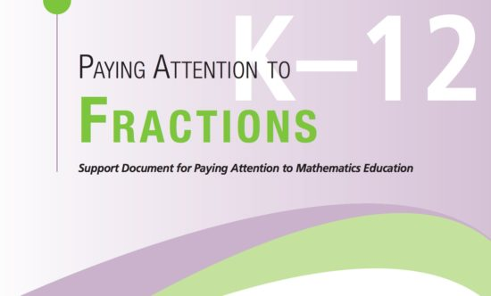 Paying Attention to Fractions
