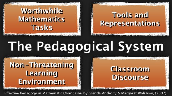 The Pedagogical System