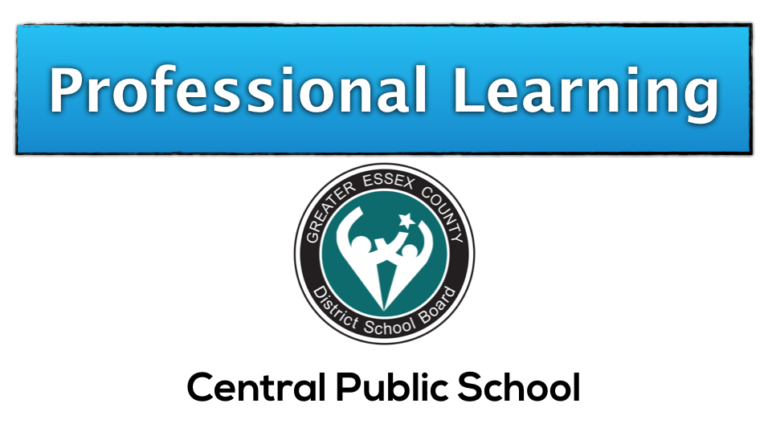Central Public School Professional Learning