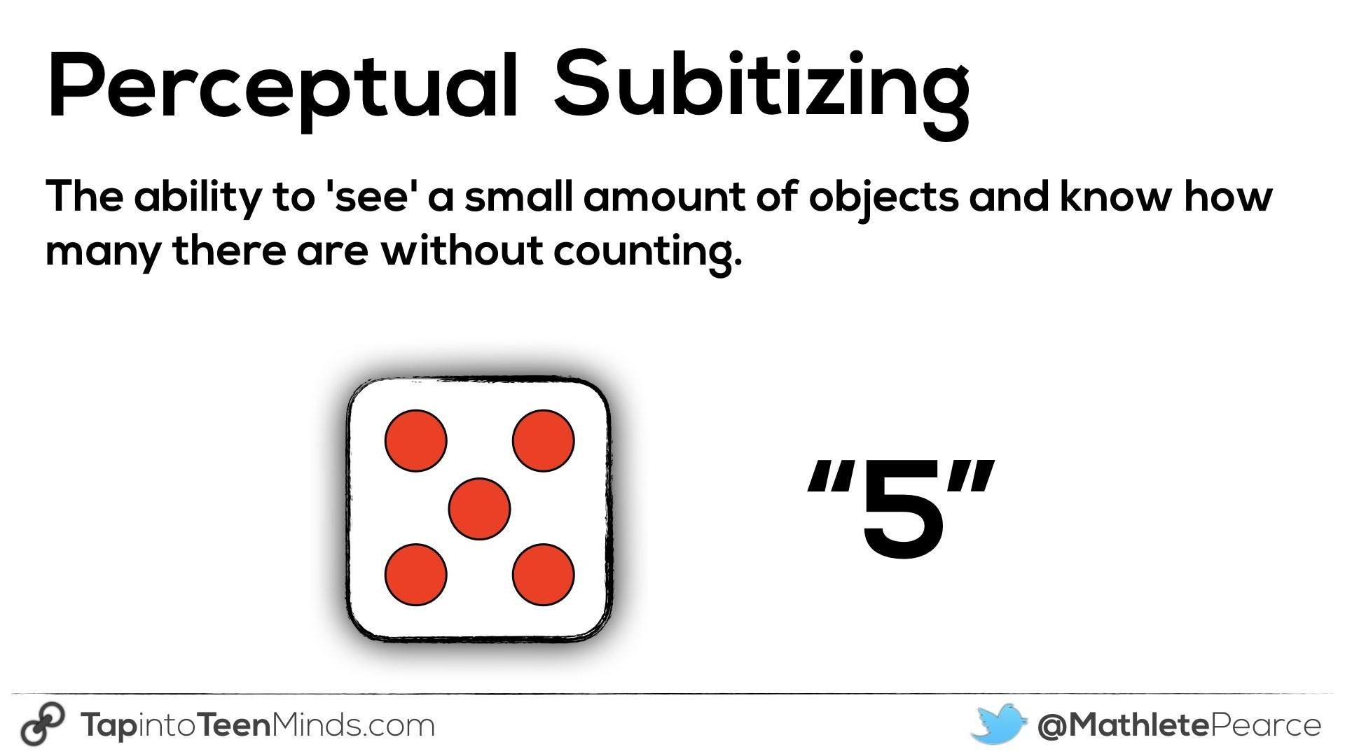 Counting Principles - Counting, Quantity and Cardinality
