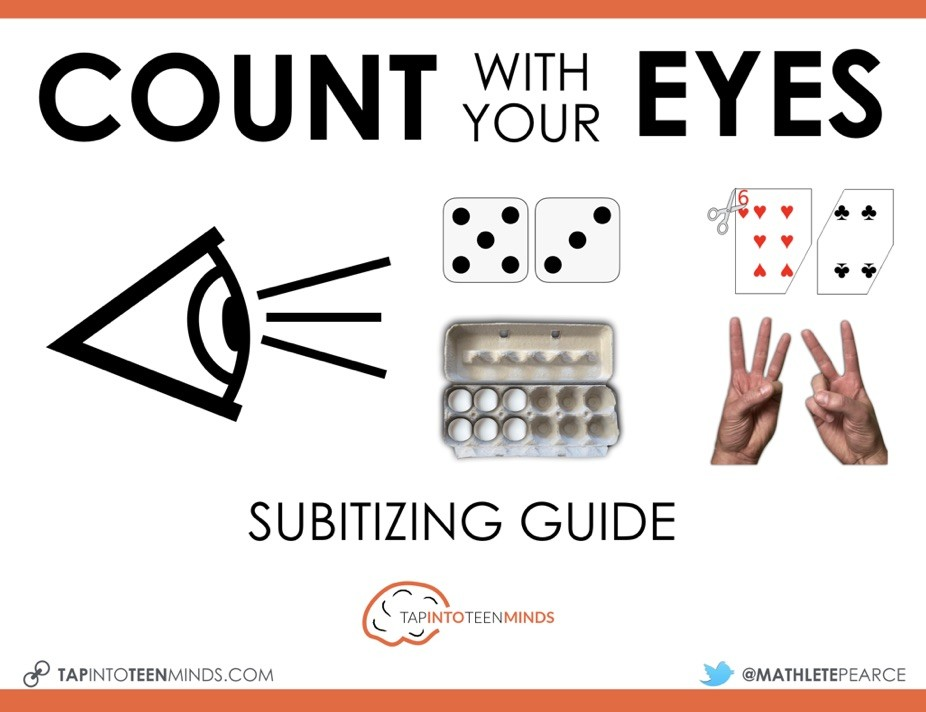 Principles of Counting - Count With Your Eyes Subitizing Guide