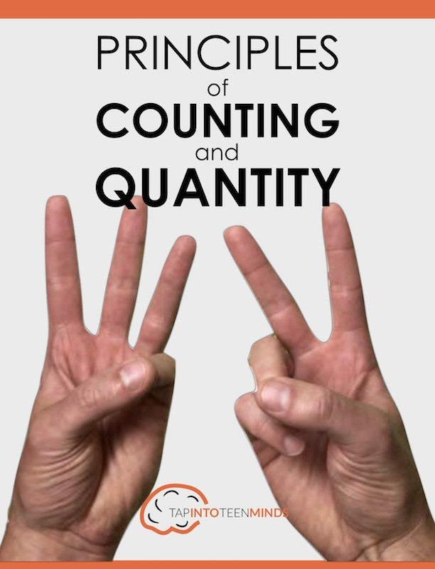 Principles of Counting and Quantity Cheat Sheet Cover