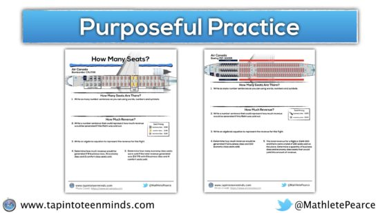Airplane Task Extensions - Purposeful Practice Screenshot