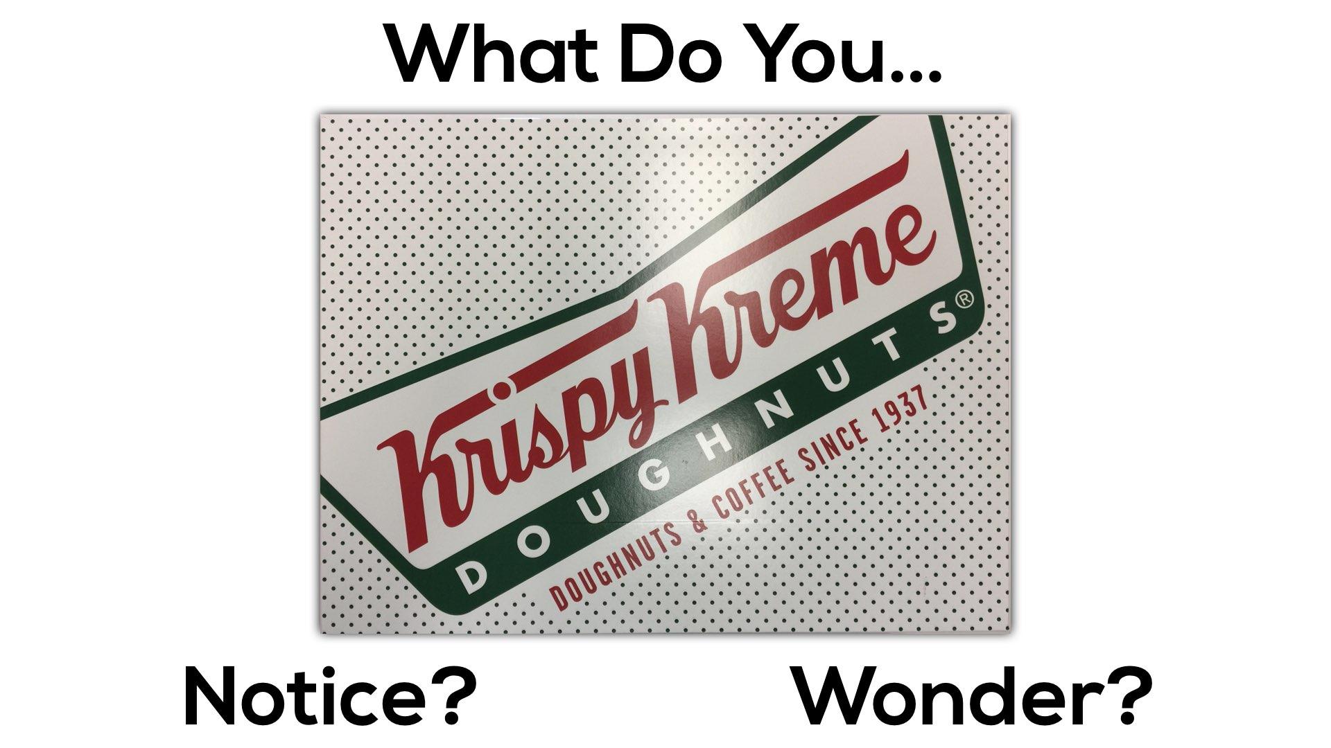 Krispy Kreme Donut Delight 3 Act Math Task   Progressions of