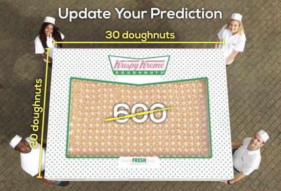 Krispy Kreme Donut Delight - Act 3 Reveal of 600 donuts
