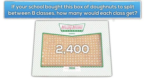 Krispy Kreme Donut Delight Extension 2 - Fair Share Amongst 8 Classes