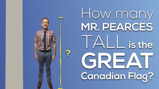 Canada 150 Math Challenge - Predict the Height of Mr Pearce