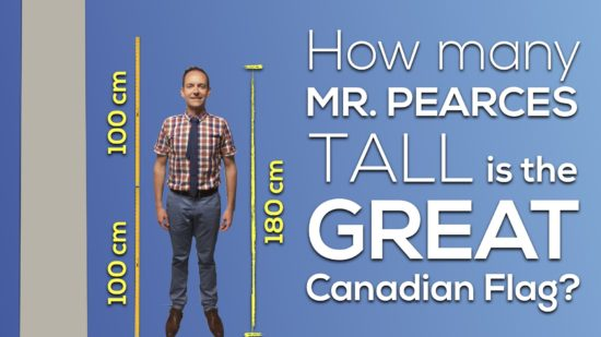 Canada 150 Math Challenge - Mr Pearces Height