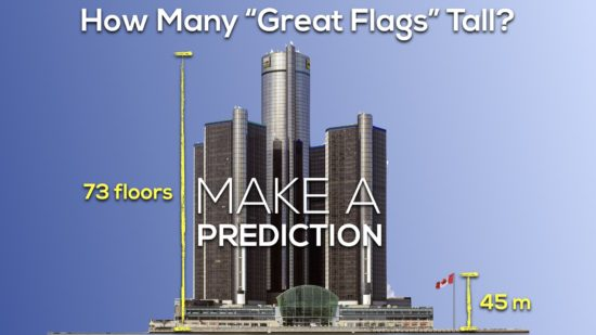 Canada 150 Math Challenge - Make a Prediction