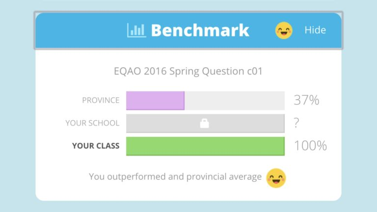 EQAO Benchmark Tool Added to Knowledgehook Gameshow