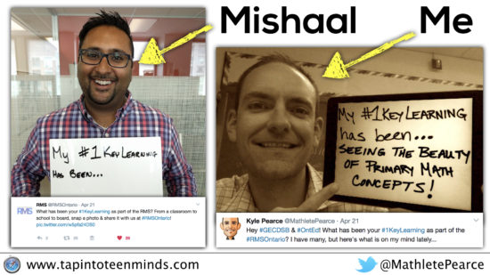 Mishaal and Kyle - #1KeyLearning