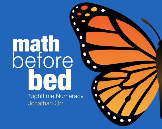 Math Before Bed Book Cover by Jon Orr