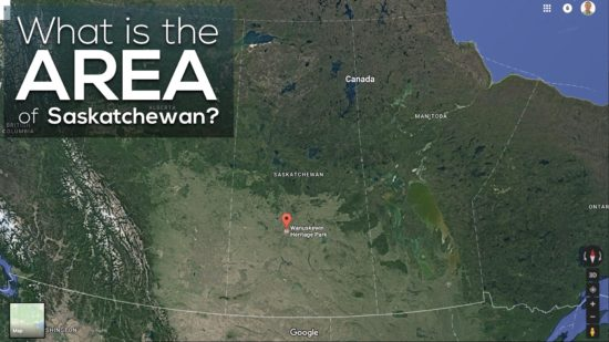 Area of Saskatchewan 3 Act Math What is the Area of Saskatchewan?