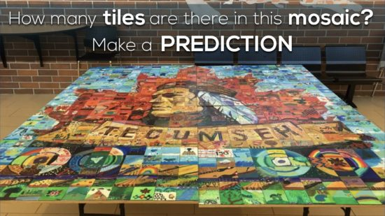 Massive Mosaic 3 Act Math Task 004 Make a Prediction