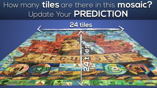 Massive Mosaic 3 Act Math Task 005 Act 2 Update Your Prediction