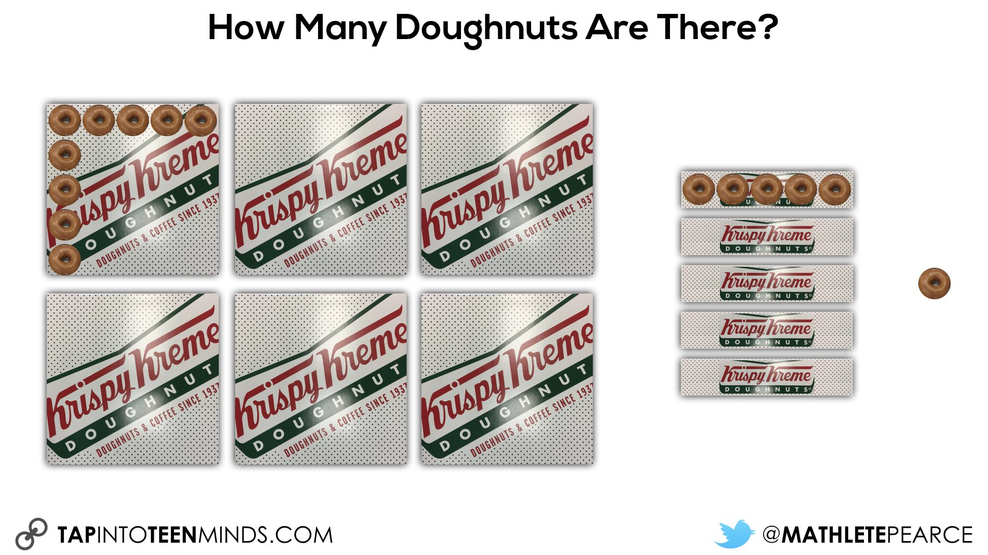 5 doughnuts in each box