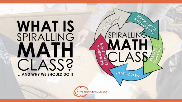 The Complete Guide to Spiralling Your Math Curriculum