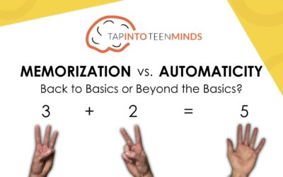 Memorization vs. Automaticity: Back to Basics or Beyond the Basics?