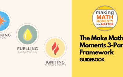 The Make Math Moments 3-Part Framework Guidebook