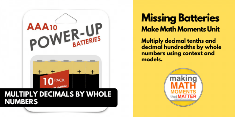 Missing Batteries
