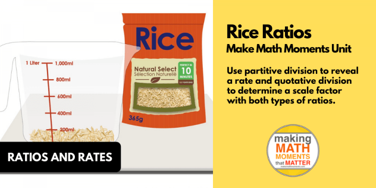 Rice Ratios